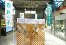 中央通路展示の様子1